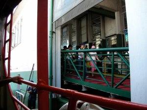 The Star Ferry:  Hong Kong, August 2006