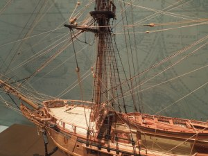 The Charles Parsons Gallery in the San Mateo County Museum in Redwood City is full of the model ships Parsons made himself.  Self knows virtually nothing about the man.