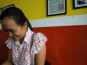Self Made Alawi Canlas laugh! This is in Magalang, Pampanga, where Alawi teaches.