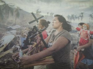 In Self's Opinion, the Picture of the Year: She saw it in the Wall Street Journal, a few days after Typhoon Haiyan/Yolanda devastated the Philippine city of Tacloban.