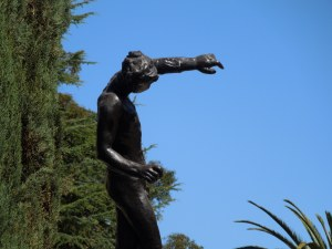 Rodin Sculpture Garden, on the Stanford campus