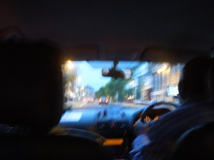 """Cab Ride: The cabbie was from Nigeria. He LOVES Ireland, even the cold wet winters don't bother him. """"It's not as bad as London or Germany,"""" he said."""