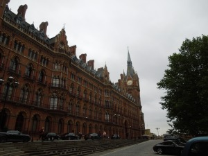 St. Pancras: Incredible, they at one point were thinking of tearing it down.