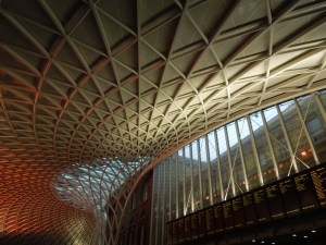 King's Cross Station in London:  Fabulous
