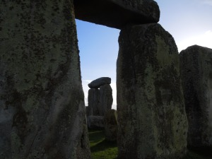 Fascinating to think that the stones were positioned to control what one sees BETWEEN them.