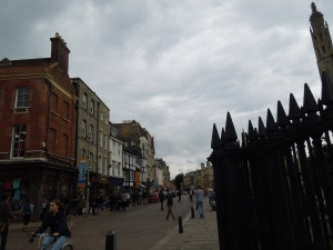 Streets of Cambridge, England
