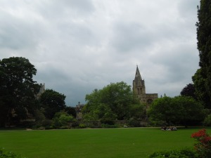 Christ Church, Oxford's oldest college, from across a meadow
