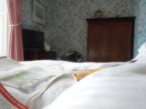Ease:  Self's bed in Ballyvolane House, County Cork, Ireland