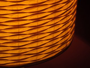 Table Lamp, the Red Room in Café Paradiso, Cork