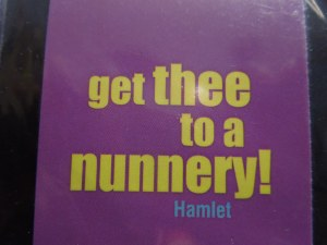 Hamlet's advice to Ophelia