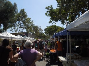 Claremont, CA:  Downtown Farmer's Market