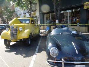 The Car Show is held in conjunction with the annual Fourth of July Parade, in downtown Redwood City.  A VERY fun tradition!