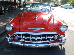 Annual Car Show, Redwood City, Fourth of July
