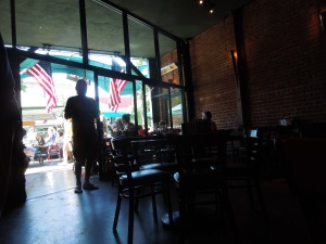 Citi Pub, Broadway Ave., downtown Redwood City:  We always go there for a beer after the Fourth of July Parade is over.