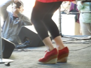 Cool Shoes:  2014 Fillmore Jazz Festival, San Francisco