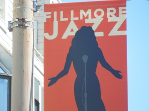 The colors of this poster are so vibrant -- like the jazz festival itself.