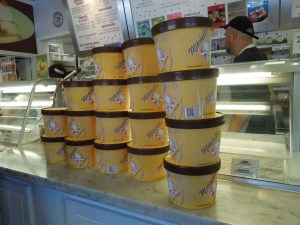 Mitchell's Ice Cream Parlor:  Pre-packed tubs of flavors like mango, ube, peanut butter indulgence, halo-halo