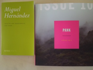 Arrived in the Mail Today: a poetry collection and PANK # 10