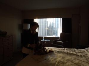 Self's Roommate at the Hilton:  Poet Luisa A. Igloria