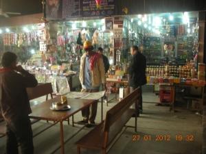Roadside Market, on the road from New Delhi to Kasauli: January, 2012