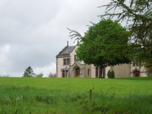 The Tyrone Guthrie Centre for Artists in Annaghmakerrig, Ireland: Self was there in May 2014.