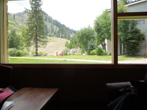 The Olympic House at Squaw Valley: July, 2014