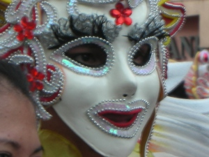 Dancer, Masskara Festival, Bacolod 2013