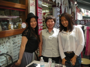 Girlfriends! Met these two girls from Beijing in a restaurant in Burano, April 2013.