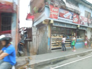 Streets of Manila, Refracted (Through a Car Window)