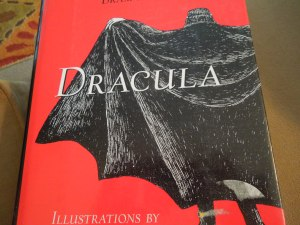 Cover Art:  DRACULA by Bram Stoker, Illustrated by Edward Gorey