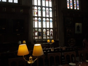 The Dining Hall of Christ Church, Oxford: May 2014