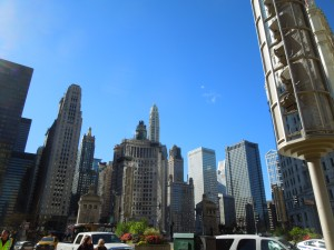 Downtown Chicago, October 2014