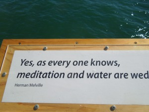 Every Boardwalk needs a quote from Herman Melville.