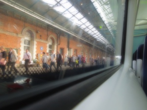 Irish Rail: Out of Dublin's Connolly Station, Train to Sligo: June 2014