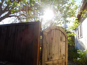 The Gate Leading to the Side Yard