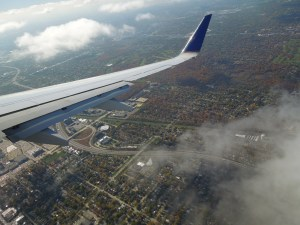 En route to Chicago, last fall
