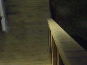 Stairs at Night, Mendocino Art Center