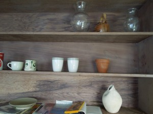 Shelves, Laundry Room of the Mendocino Art Center