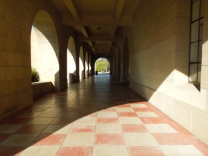 Cubberley, Stanford campus: the day self spoke to Valerie Miner's students