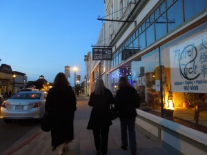 Gallery-Hopping, First Friday, Fort Bragg