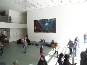 Still the Main Lobby of the Museum of Modern Art