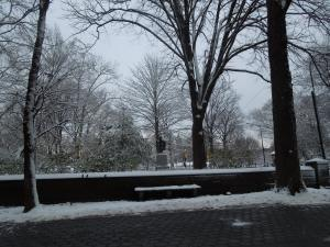 Central Park, New York City: Snow Day, March 2015