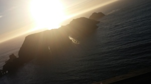 Captured on my Cell Phone: The Pacific Ocean Viewed From Elk, CA