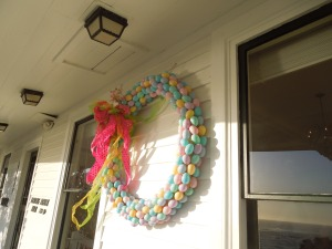 Easter Wreath, Little River Inn