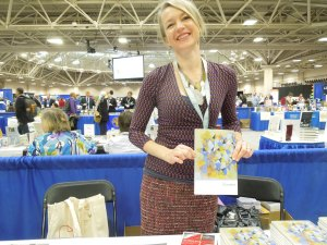 Charlotte Pence, Poetry Editor of Bluestem. Her poetry collection, MANY SMALL FIRES, was just published by Europa Press.