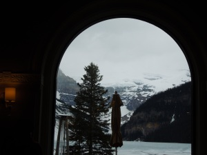 Lake Louise, View From a Hotel