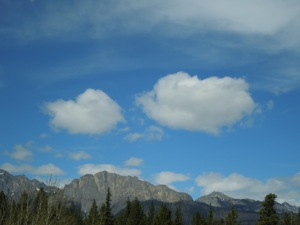 Banff, Alberta: late April, 2015
