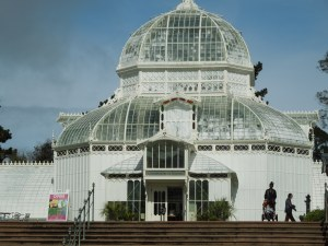 Front Entrance, San Francisco Conservatory of Flowers, Golden Gate Park