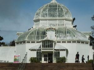 Front Entrance, San Francisco Conservatory of Flowers, Golden Gate Park