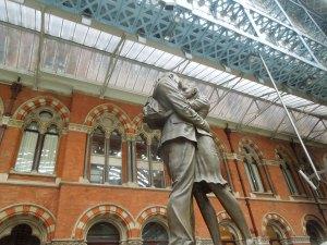King's Cross Train Station, June 2015